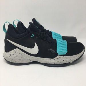 Nike PG1 Blockbuster Aqua Basketball Shoe Mens 11